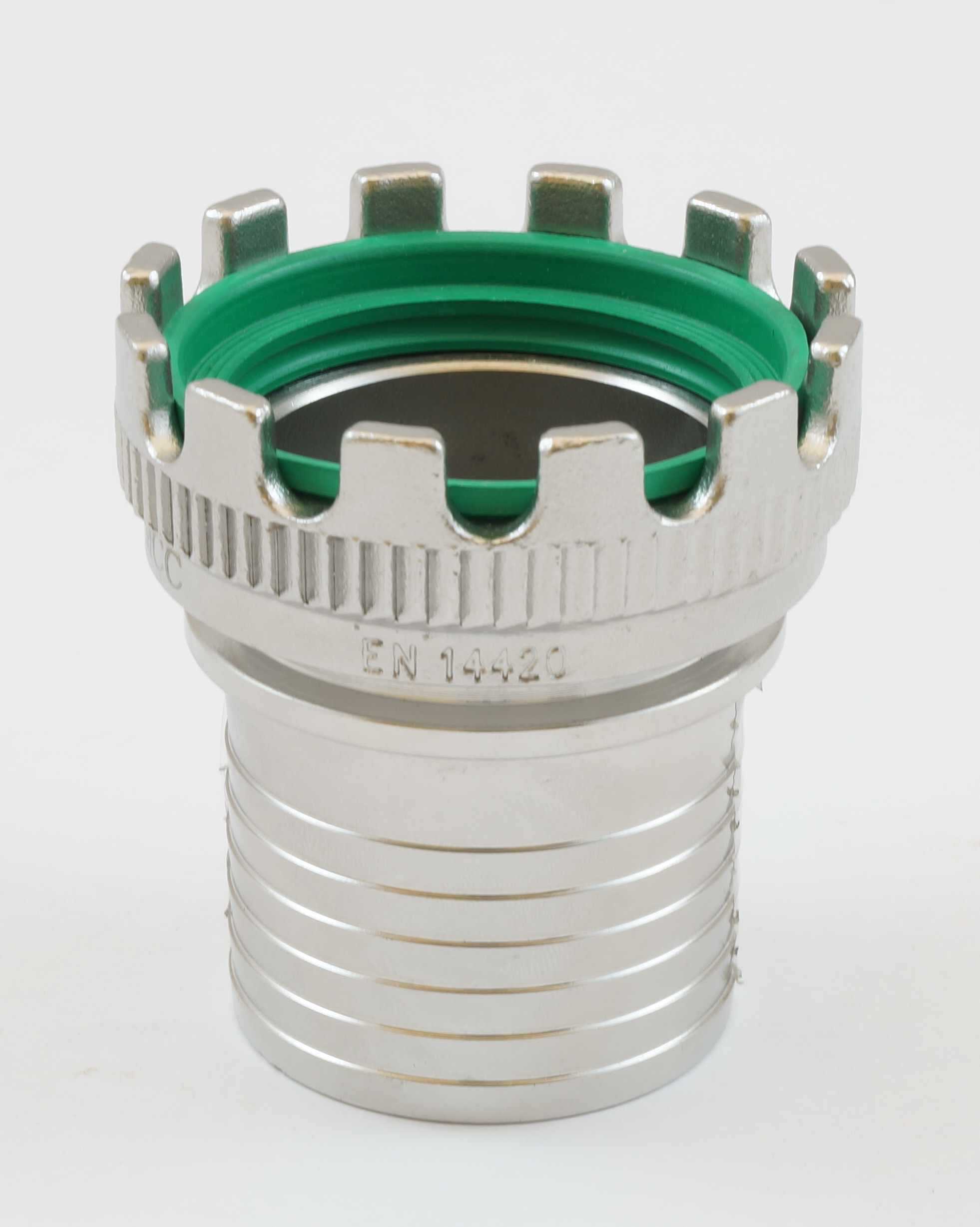 SS TW coupling serrated tail and collar for safety clamps