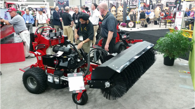 Toro Unveils New Stand-on Mower at GIE+EXPO 2015