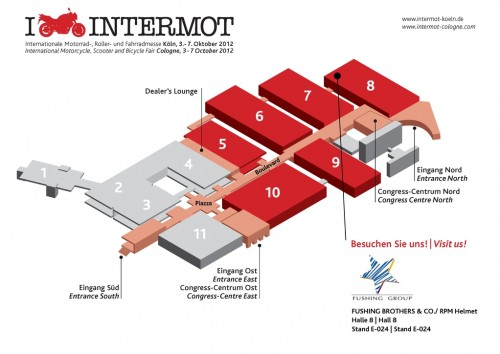 intermot 2012 hall plan